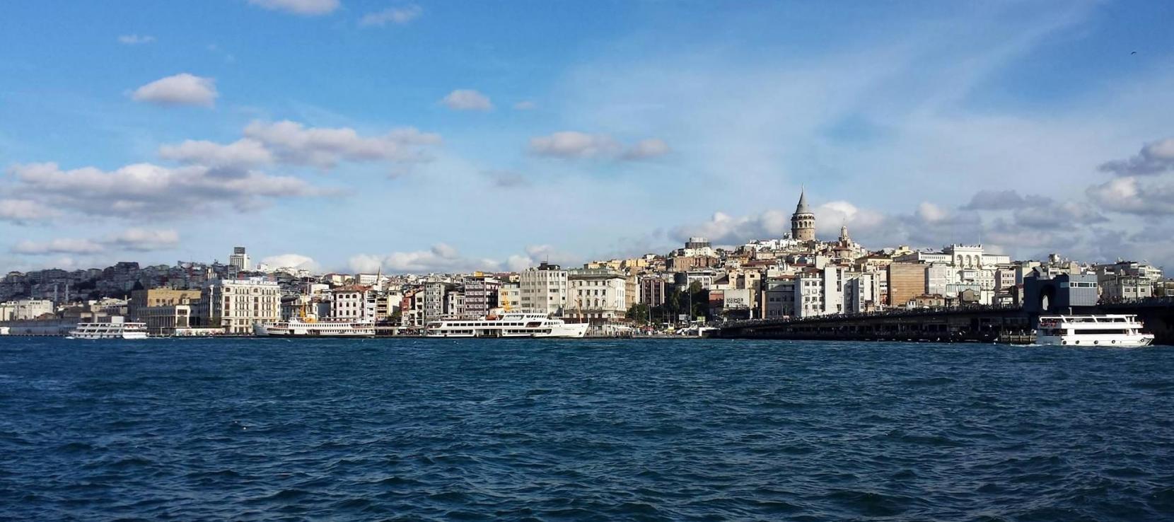 Istambul vue de la mer